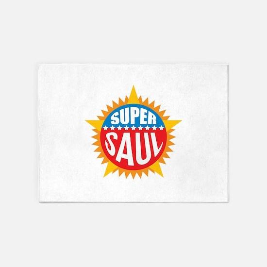 Super Saul 5'x7'Area Rug