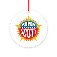 Super Scott Ornament (Round)