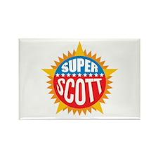 Super Scott Rectangle Magnet (100 pack)