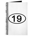 Number 19 Oval Journal