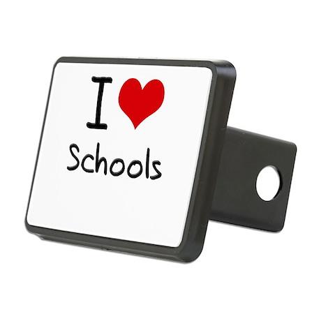 I Love Schools Hitch Cover