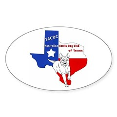 TACDC Oval Decal