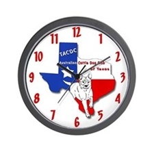 TACDC Wall Clock - Red