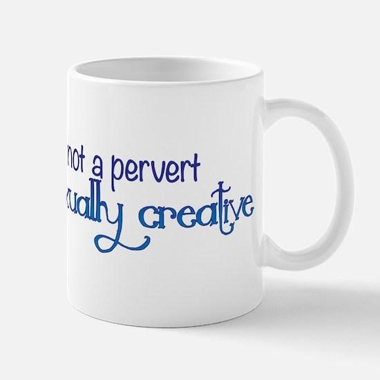 Im Not a Pervert Mug
