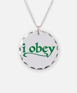 I Obey Necklace