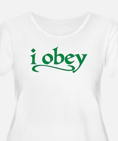 I Obey Plus Size T-Shirt