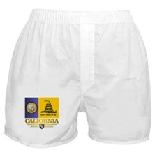 California Gadsden Flag Boxer Shorts