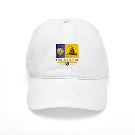 California Gadsden Flag Baseball Cap