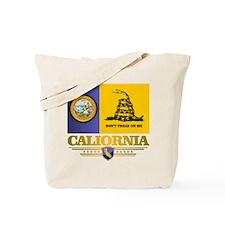 California Gadsden Flag Tote Bag