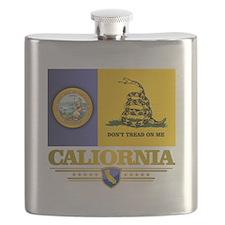 California Gadsden Flag Flask