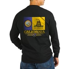 California Gadsden Flag Long Sleeve T-Shirt