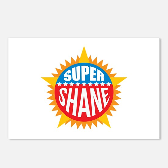 Super Shane Postcards (Package of 8)