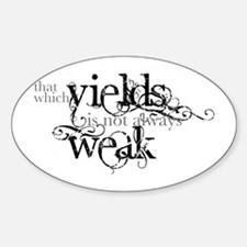 That Which Yields Decal