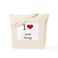 I Love Solar Energy Tote Bag