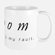 Groom - Sorry, Its My Fault Mug