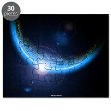 Outer Space Solar Eclipse Puzzle