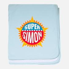 Super Simon baby blanket