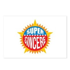 Super Sincere Postcards (Package of 8)