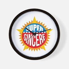 Super Sincere Wall Clock