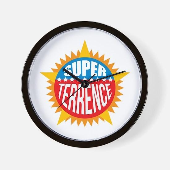 Super Terrence Wall Clock