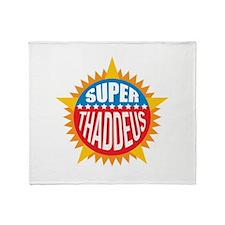 Super Thaddeus Throw Blanket