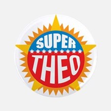 """Super Theo 3.5"""" Button (100 pack)"""