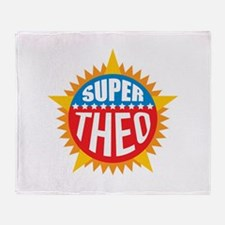 Super Theo Throw Blanket