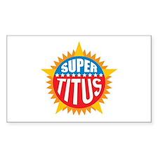 Super Titus Decal