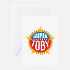 Super Toby Greeting Card
