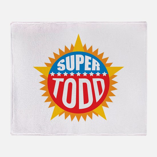 Super Todd Throw Blanket