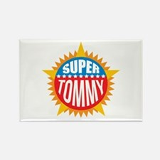 Super Tommy Rectangle Magnet