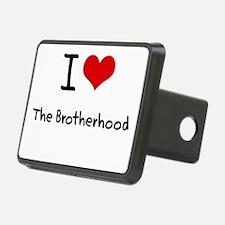 I Love The Brotherhood Hitch Cover