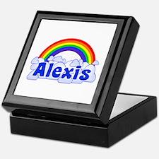 "'Alexis Rainbow"" Keepsake Box"
