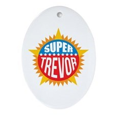 Super Trevor Ornament (Oval)