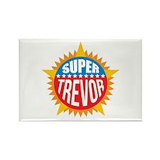 Super Trevor Rectangle Magnet