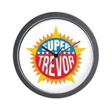 Super Trevor Wall Clock