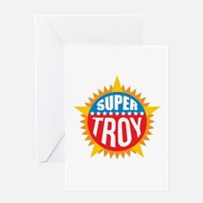 Super Troy Greeting Card