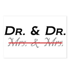 Doctor & Doctor - Lesbian Marriage - Postcards (Pa