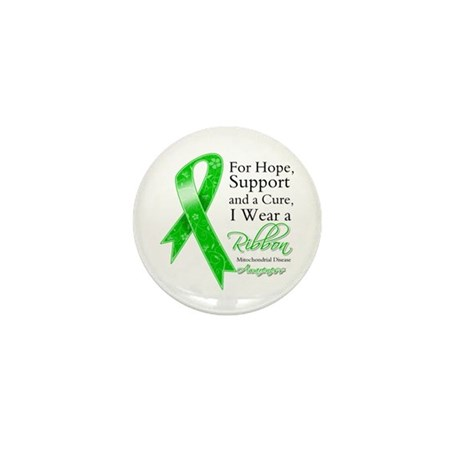Mitochondrial Disease Support Mini Button (10 pack