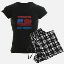 US flag artistic Pajamas