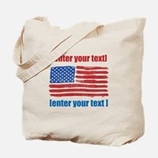 US flag artistic Tote Bag