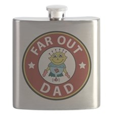 Far Out Dad Flask