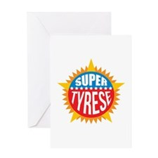 Super Tyrese Greeting Card
