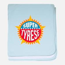 Super Tyrese baby blanket