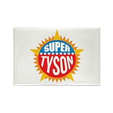 Super Tyson Rectangle Magnet