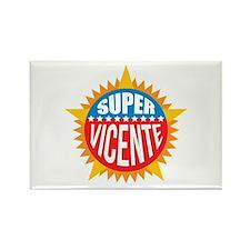 Super Vicente Rectangle Magnet