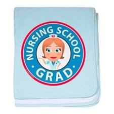 Nursing School Grad baby blanket