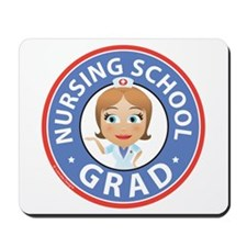 Nursing School Grad Mousepad