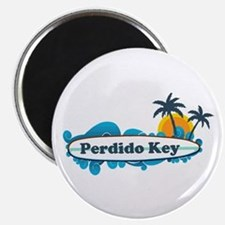Perdido Key FL - Surf Design. Magnet