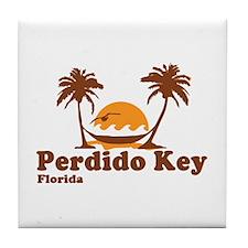 Perdido Key FL - Beach Design. Tile Coaster
